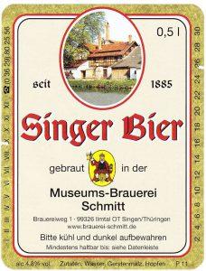 Singer Bier